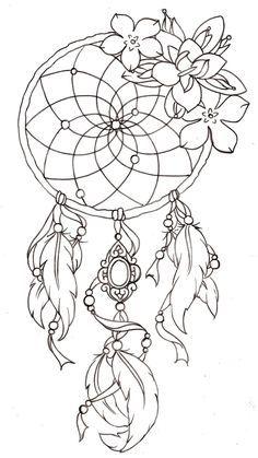 cool Dreamcatcher Tattoos Design Images