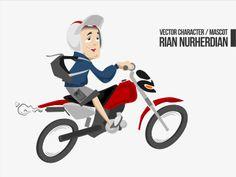 RIAN NURHERDIAN #MascotDesign #CharacterDesign