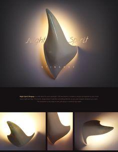 "Take a look what I've done @Behance: ""Night Spirit Stingray wall lamp"" https://www.behance.net/gallery/61121337/Night-Spirit-Stingray-wall-lamp"
