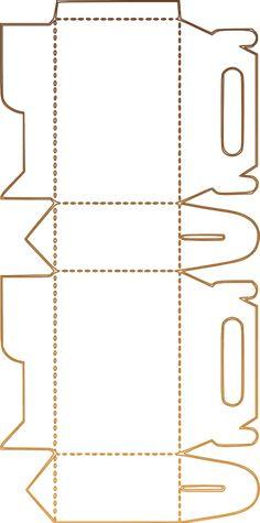 30 Adorables cajitas tipo lonchera para dulces - Dale Detalles box for cookies 30 Adorables cajitas tipo lonchera para dulces - Dale Detalles Diy And Crafts, Paper Crafts, Box Patterns, Diy Box, Print And Cut, Craft Items, Packaging, Printables, Templates