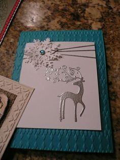 Reindeer/Snowflake Card