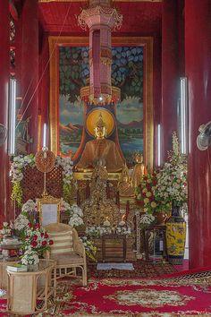 2013 Photograph, Wat Chedi Liem Phra Wihan Buddha Image, Wiang Kum Kam, Tambon Tha Wang Tan, Saraphi District, Chiang Mai Province, Thailand, © 2014. ภาพถ่าย ๒๕๕๖ วัดเจดีย์เหลี่ยม พระพุทธรูป พระวิหาร เวียงกุมกาม ตำบลท่าวังตาล อำเภอสารภี จังหวัดสารภี ประเทศไทย