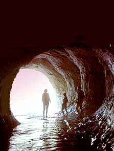 Cave Stream Aurthers Pass Canterbury New Zealand