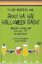 1-2090 Ghoulish Drinks - 20 Blank Cards