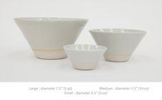 west river field lab, bowls, 1qt, 14 oz, 3 oz