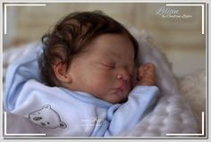 Lilian by Gudrun Legler reborn artist Andrea Heeren rebornDELUXE sold out amazing doll kit long dark hair rooted