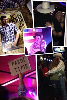 John Pardi's CD release party!