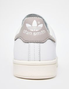 cb66ad9dba5f58 adidas Originals White Stan Smith Trainers