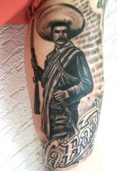 1000 ideas about emiliano zapata my mom 39 s family on for Pancho villa tattoo
