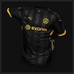 88de1dadf89 Incredible Puma Borussia Dortmund 19-20 Home, Away & Third Concept Kits by  Saintetixx