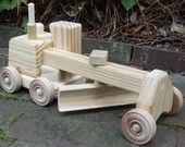 great wooden trucks at etsy