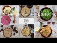 7 Recetas originales y difrentes de Hummus. Especial Navidad. - YouTube