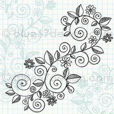zentangle designs | DOODLES ZENTANGLE PATTERNS / flourish