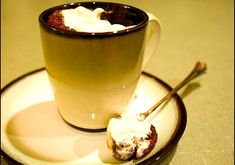 Chocolate-Chocolate Chip Cake in a Cup – No Butter, No Milk, No Eggs – Easy Quick Sinful & Decadent