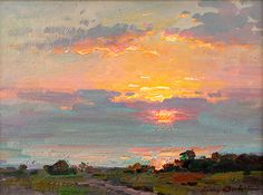 Ovanes Berberian, Waterhouse Gallery, Artist, Waterhouse Gallery, Landscape and Still Lfe Artist, bold use os color, Waterhouse Gallery Santa Barbara California.