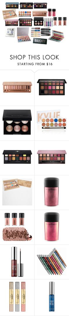 """""""makeup b"""" by cuteoutfits4you on Polyvore featuring Urban Decay, Huda Beauty, Kylie Cosmetics, Witchery, Anastasia Beverly Hills, MAC Cosmetics, tarte and Morphe"""
