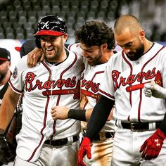 The official website of the Atlanta Braves with the most up-to-date information on scores, schedule, stats, tickets, and team news. Braves Baseball, Baseball Players, Baseball Jerseys, Brave Wallpaper, Nick Markakis, Dansby Swanson, Buster Posey, Young Guns, Derek Jeter
