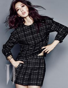 Park Shin Hye's Classy Autumn Style For W Korea's September 2014 Issue | Couch Kimchi