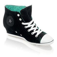 Converse All Star Light Wedge Schuhe - Sneaker Fashion schwarz bei HUMANIC