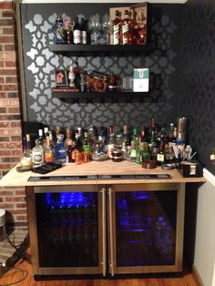 DIY home bar   Awesomeness always remains in trend   Ice Cube #Chandigarh