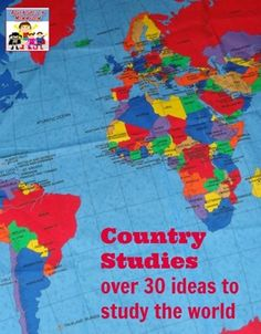 Country studies over 30 ideas to study the world