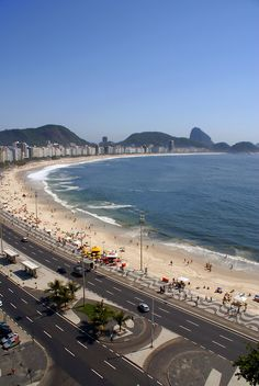 Copacabana Beach - Rio De Janeiro, Brazil.