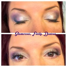 Playing with Pigments  Glamorous in the crease. Feisty on the lid and browbone. Devious as a liner and also in the crease. 3D Mascara on the lashes! www.thicklonglashes.com