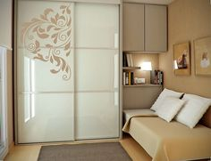 Flower Swirly Floral Wall Stickers Vinyl Art Room Decal Wardrobe Decor