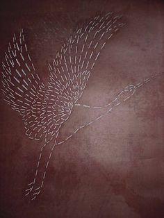 Japanese stencil (katagami)
