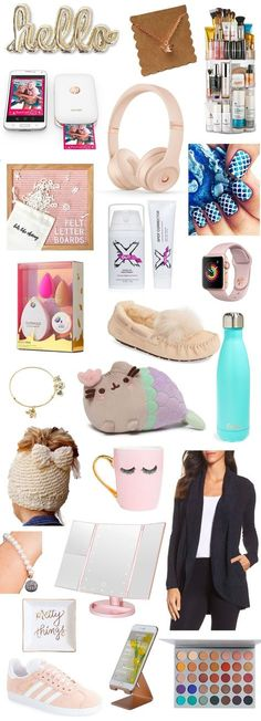 The Best Christmas Gifts for Teens The ultimate Christmas gift guide for teenage girls! TONS of cute and unique Christmas gift ideas for teens that she's guaranteed to love! Birthday Presents For Teens, Presents For Girls, Birthday Gift For Him, Gifts For Kids, Diy Birthday, Birthday Ideas, Birthday Decorations, 16th Birthday, Teen Christmas Gifts