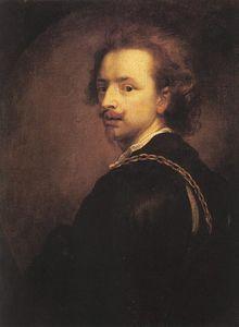 Antoine van Dyck - Autoportrait.