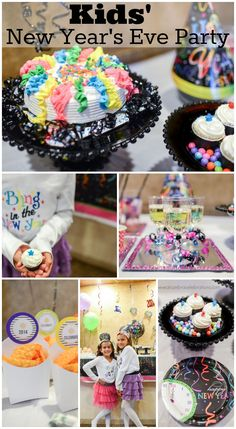 Kids' New Year's Eve party ideas! See more party ideas at CatchMyParty.com.