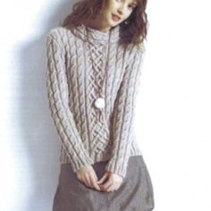 Have to knit this soon  Bergere de france portrait neck sweater
