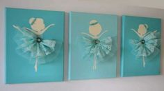 Ballerina Canvas wall art is a favorite for little girls! Any little budding Ballerina will love this pretty Dancing Ballerina Canvas Wall Art! Ballerina Kunst, Ballerina Silhouette, Diy And Crafts, Arts And Crafts, Diy Décoration, Canvas Wall Art, Art For Kids, Art Projects, Crafty