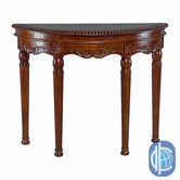 Found it at Wayfair - Windsor Hand Carved Half-Moon Console Table