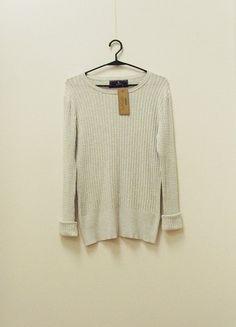 Kup mój przedmiot na #vintedpl http://www.vinted.pl/damska-odziez/swetry-z-dzianiny/21099246-wymiana-60-zl-nowy-metka-medicine-sweter-splot-popiel-siwy-melanz-warkocz-wiskoza-34-36
