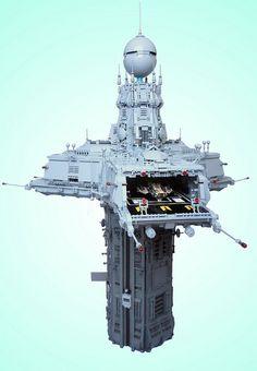 Amazing Lego space station