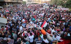 Antichrist Followers Protest Against Iraqi Government (Rev 13:18) http://andrewtheprophet.com/blog/?p=11587