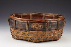 Kagedo Japanese Art Sumi Charcoal Basket by Hosai II - Kagedo Japanese Art