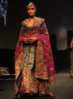 Ritu Kumar bridal // wedding dress collection