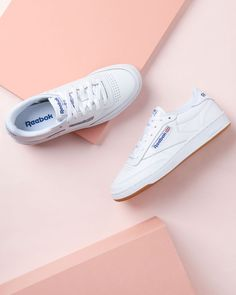 """1,102 Likes, 7 Comments - Supplying Girls With Sneakers (@nakedcph) on Instagram: """"CLASSIC CLUB C  The Club C 85 Vintage sports a low-cut silhouette that features an upper of soft…"""""""