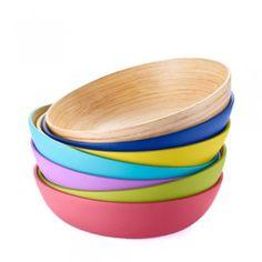 Deep Dish Lacquerware Bowls