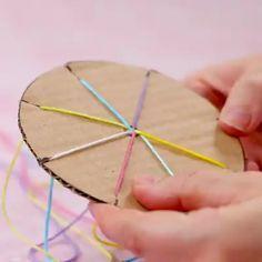 yarn crafts for kids ~ yarn crafts ; yarn crafts for kids ; yarn crafts for adults ; yarn crafts to sell ; yarn crafts for kids easy Diy Crafts Hacks, Diy Home Crafts, Diy Arts And Crafts, Cute Crafts, Creative Crafts, Sewing Crafts, Paper Crafts, Diys, Diy Crafts With Wool