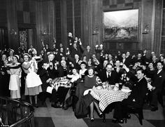 German-Americans celebrate the end of prohibition. The saloon at the Chicago's Bismarck Hotel started serving beer early to celebrate