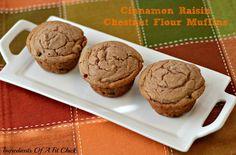 Cinnamon Raisin Chestnut Flour Muffin 1