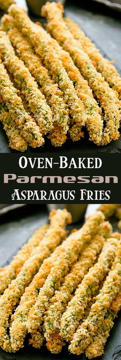 Oven-Baked Parmesan Asparagus Fries