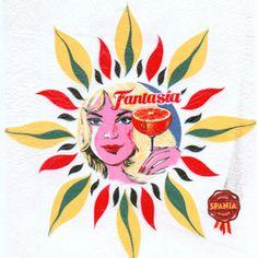 Vintage Labels, Vintage Ephemera, Vintage Ads, Vintage Prints, Vintage Designs, Fruit Packaging, Food Label, Orange Paper, Stationery Store