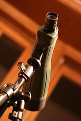 GUIDE: Spotting scopes. On bird walks, are you always waiting in line to use the guide's spotting scope? Maybe your binocs just don't cut it anymore? Have you been thinking about purchasing a spotting scope for years, only to be frustrated by the cost or overwhelmed by too many options? The Mar-Apr 2010 Audubon magazine offers tips for the nerve-wracking-yet-exciting process of selecting a scope. [Photograph by J. Mark Bertrand, Flickr Creative Commons]