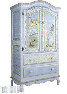 Gorgeous armoire- PoshTots.com