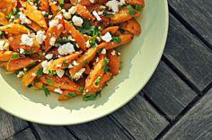 luzia pimpinella: gebackene Möhren-Salat mit Feta